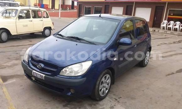 Acheter Occasion Voiture Hyundai Getz Bleu à Antananarivo, Analamanga