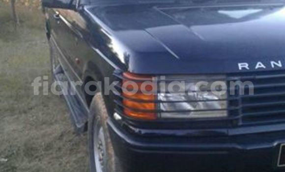 Acheter Occasion Voiture Land Rover Range Rover Noir à Antananarivo au Analamanga