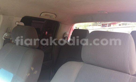 Acheter Occasion Voiture Nissan Navara Rouge à Antananarivo, Analamanga