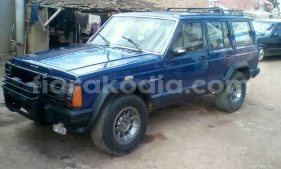 Acheter Occasions Voiture Jeep Grand Cherokee Bleu à Antananarivo au Analamanga