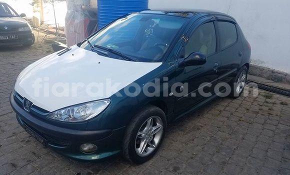 Acheter Occasion Voiture Peugeot 206 Vert à Antananarivo, Analamanga