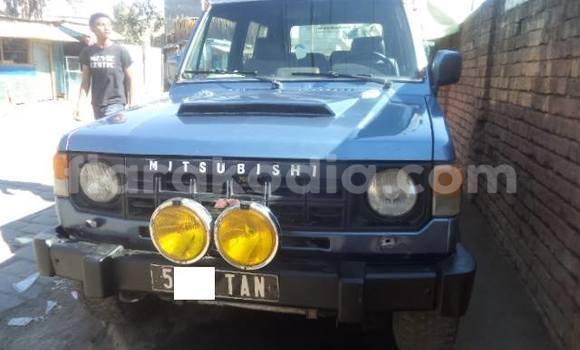 Acheter Occasion Voiture Mitsubishi Pajero Bleu à Antananarivo au Analamanga
