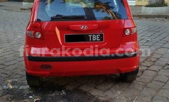 Acheter Occasion Voiture Hyundai Getz Rouge à Antananarivo au Analamanga