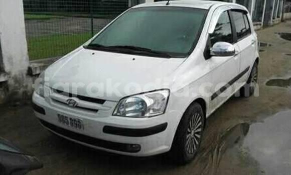Acheter Occasions Voiture Hyundai Getz Blanc à Antananarivo au Analamanga
