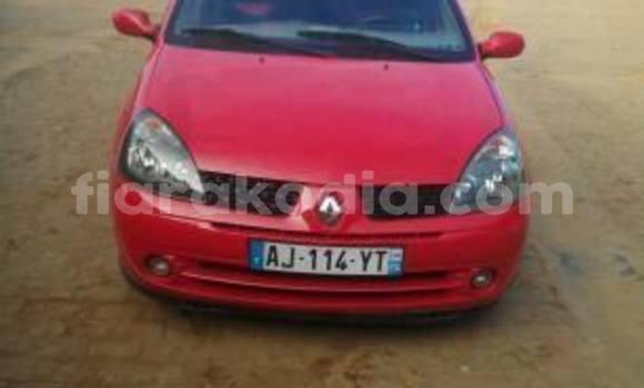 Acheter Occasion Voiture Renault Clio Rouge à Antananarivo, Analamanga