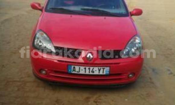 Acheter Occasion Voiture Renault Clio Rouge à Antananarivo au Analamanga