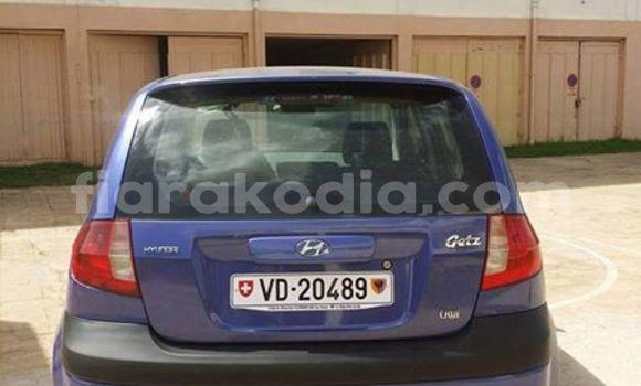Acheter Occasion Voiture Hyundai Getz Bleu à Antananarivo au Analamanga