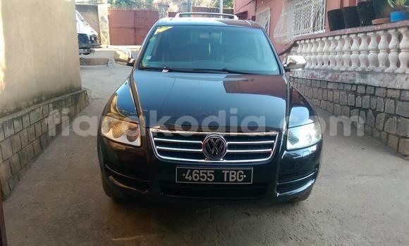 Acheter Occasion Voiture Volkswagen Touareg Noir à Antananarivo au Analamanga