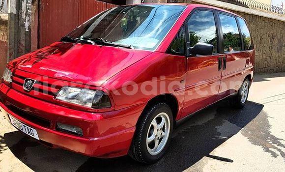 Acheter Occasion Voiture Peugeot 806 Rouge à Antananarivo au Analamanga