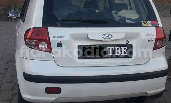 Acheter Occasion Voiture Hyundai Getz Blanc à Antananarivo, Analamanga