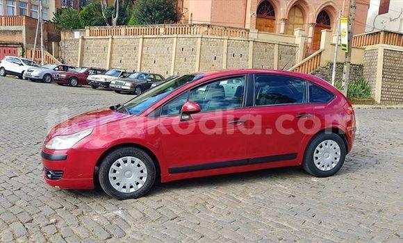 Acheter Occasion Voiture Citroen C4 Rouge à Antananarivo au Analamanga