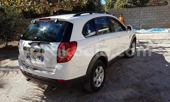 Acheter Occasion Voiture Chevrolet Captiva Blanc à Antananarivo, Analamanga
