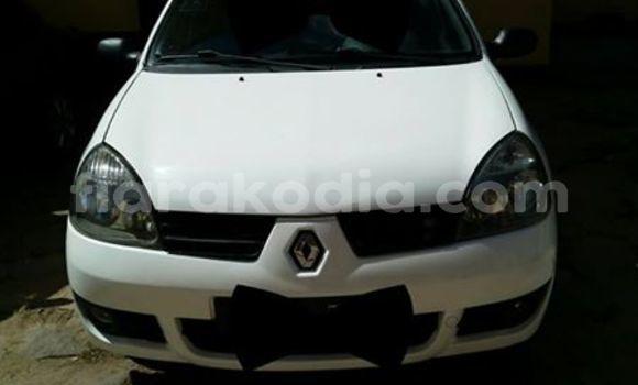Acheter Occasion Voiture Renault Clio Blanc à Antananarivo au Analamanga