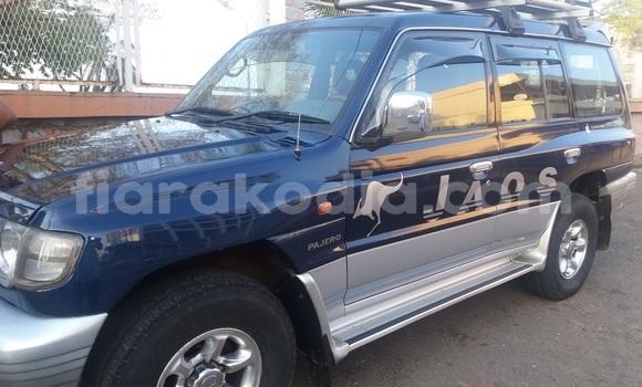 Acheter Occasion Voiture Mitsubishi Pajero Bleu à Antsiranana au Diana