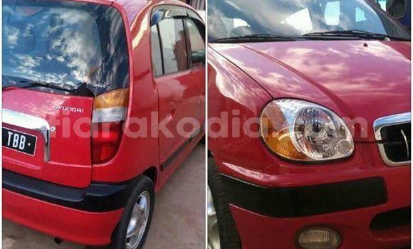 Acheter Occasions Voiture Hyundai Atoz Rouge à Antananarivo au Analamanga