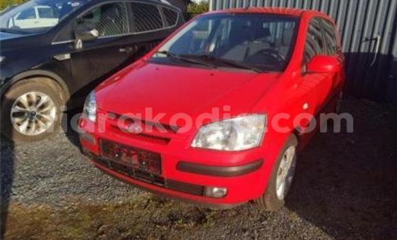 Acheter Occasions Voiture Hyundai Getz Rouge à Antananarivo au Analamanga
