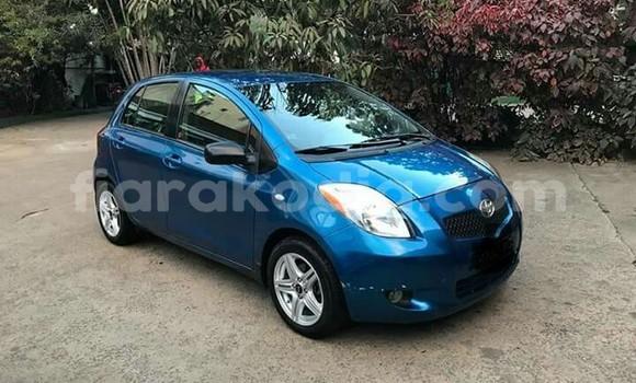 Acheter Occasions Voiture Toyota Yaris Bleu à Antananarivo au Analamanga