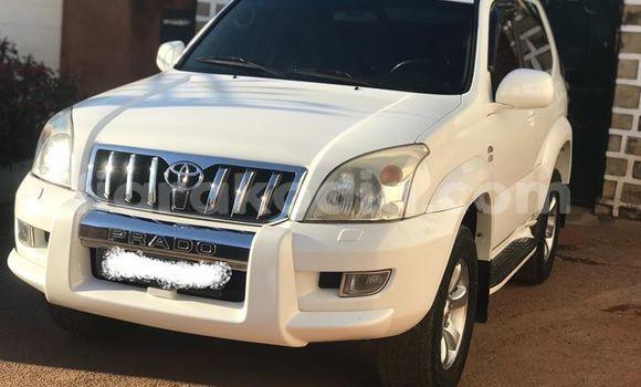 Acheter Occasion Voiture Toyota Land Cruiser Prado Blanc à Antananarivo, Analamanga