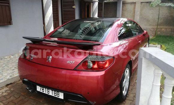 Acheter Occasion Voiture Peugeot 407 Rouge à Antananarivo, Analamanga