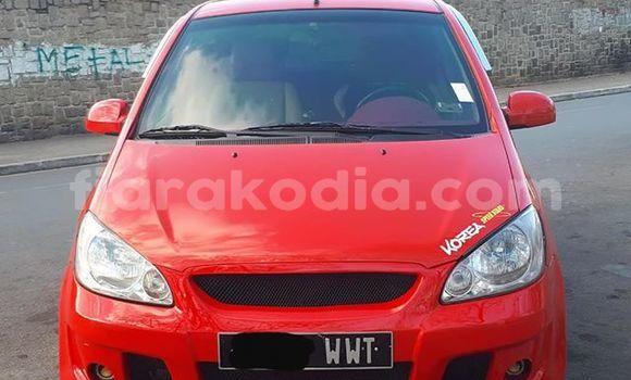 Acheter Occasion Voiture Hyundai Getz Rouge à Antananarivo, Analamanga
