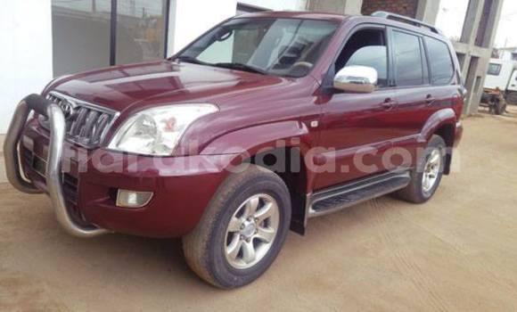 Acheter Occasion Voiture Toyota Land Cruiser Prado Rouge à Antananarivo, Analamanga