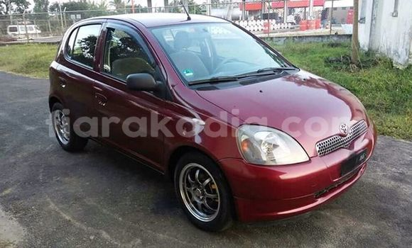 Acheter Occasion Voiture Toyota Yaris Rouge à Antananarivo, Analamanga